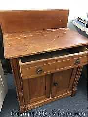 Wooden Washstand
