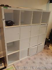 Shelving with Cupboards For Storage C