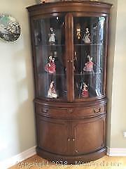 Knechtel Corner Curio Cabinet