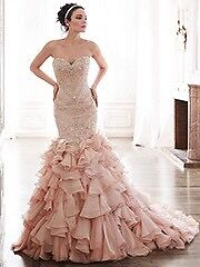 Maggie Sottero Serencia blush wedding dress