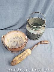 Copper Pot, Iron Pot, and Soldering Iron