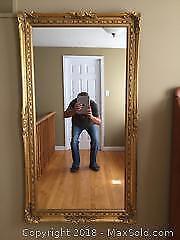 Vintage Hall Mirror