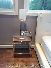 End Table and Table Lamp B