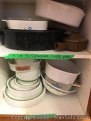 Corningware and Corelle Dishes