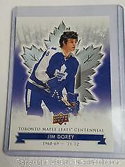 Jim Dorey Maple Leafs Hockey Card