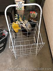 Metal Bundle Buggy and Outdoor Decor A
