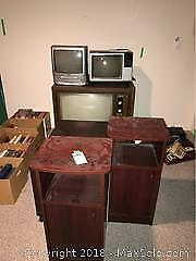 TVs, Media Stand, End Tables C