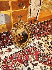 Ornate Wall Hanging Plastic Framed Mirror A
