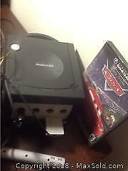 Nintendo GameCube Game Console And Dvd Cars