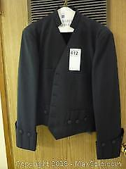 Vintage Black Judges Jacket -A
