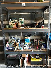 Contents Of Garage Cabinet- A