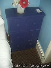 Small Cabinet or Nightstand with Drawers. A