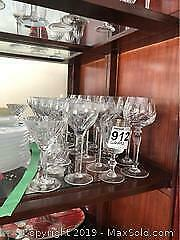 Cross And Olive And Other Wine Glasses A