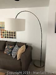 Crate & Barrel Floor Lamp - B