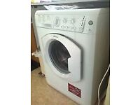 78 Hotpoint HV7L145 7kg 1400 Spin White A Rated Washing Machine 1 YEAR GUARANTEE FREE DEL N FIT