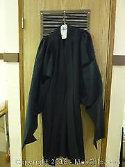 Vintage Black Judges Robe -A