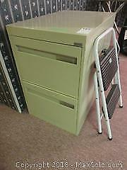 File Cabinet And Step Stool B