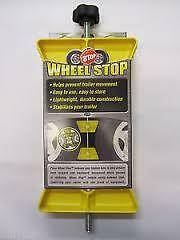 WHEEL STOP WITH LOCK    50 % OFF
