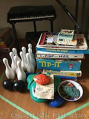 Children's Games And Toy Piano B
