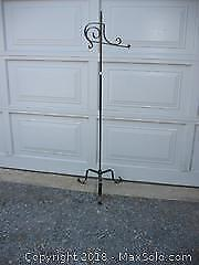 Wrought Iron Lamp Stand A