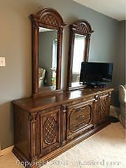 Dresser And Two Mirrors C