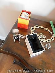 Watch And Costume Jewelry A