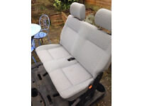 T4 VW Volkswagen Caravelle seats - 3 in total - from 92-93 model - Brighton