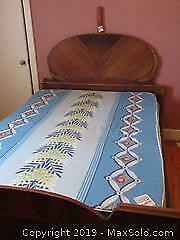 Double Bed With Head And Foot Board C