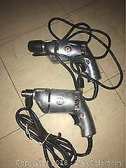 2 Rockwell Heavy Duty Electric Drills