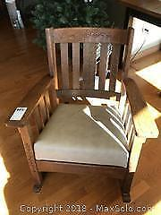 Antique Rocking Chair B