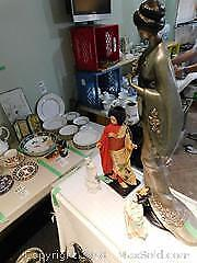 Asian Figurines Gods And Women