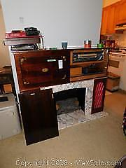 Fireplace And Cabinet C