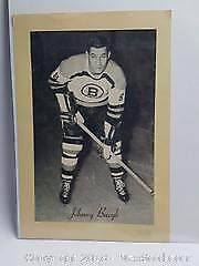 Bee Hive Corn syrup vintage hockey picture Boston??s Johnny Bucyk