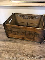 Two Vintage Crates