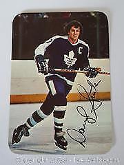 1977-78 OPC Darryl Sittler Toronto Maple Leafs Special Insert Photo Card