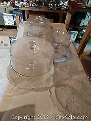 Glass Serving Dishes A
