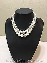 Crystal And Faux Pearl Necklaces