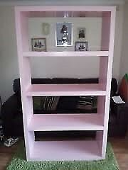 Ikea Lack limited edition baby pink bookshelf shelf