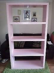 Ikea Lack limited edition baby pink bookshelf shelf