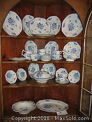 Antique Dinner Ware, England A
