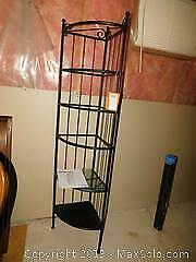 Glass Shelving Unit A