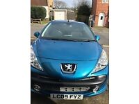 Great condition Peugeot 207 CC for sale