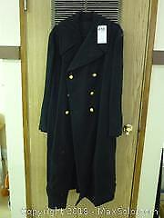 Vintage Canadian Military Great Coat - A