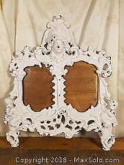 Victorian Cast-Iron Picture Frame