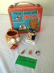 Vintage Garfield and Snoopy lot C