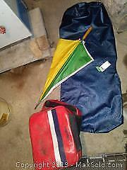 Saddle Bags and Golf Club Protector A
