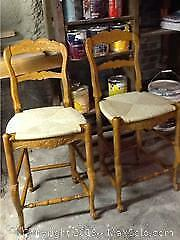 Pair Of French Country Bar Stools