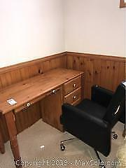Desk and Chair C