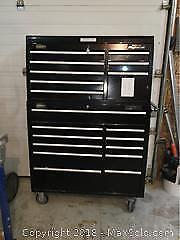 Tool Chest With Tools. Mastercraft Maximum