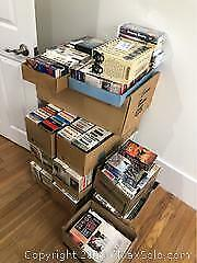 400 Plus. VHS Movies Collection